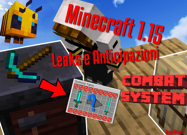 Minecraft 1 15 - Leaks e Anticipazioni | NovaPixel